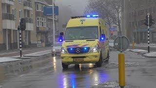 A1 Ambulance 22-109 met spoed naar de Helleberg in Veldhoven