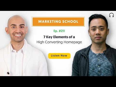 7 Key Elements of a High Converting Homepage | Ep. #211