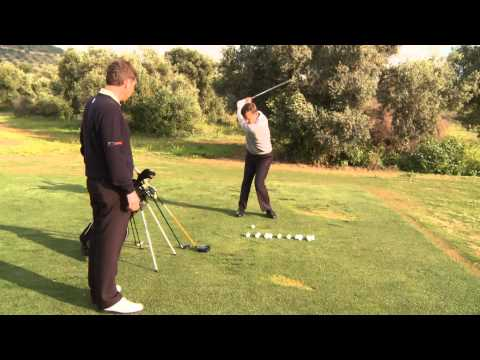 Simon Holmes Golf Warm Up Tips: 35 Ball Warm Up On The Driving Range