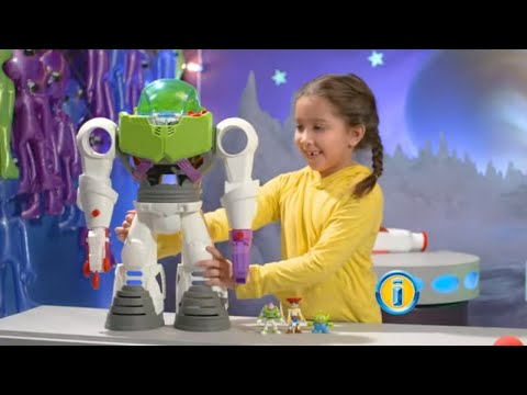 Imaginext Playset Featuring Disney•Pixar Toy Story Buzz Lightyear Robot