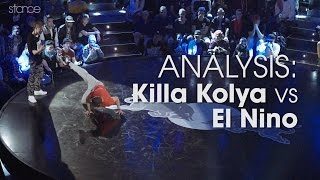BATTLE ANALYSIS:  Killa Kolya vs El Nino at Red Bull BC One 2015 // .stance