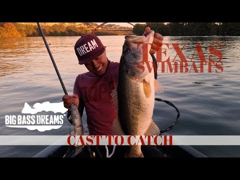 Big Bass On Big Swimbaits In Texas - Cast To Catch