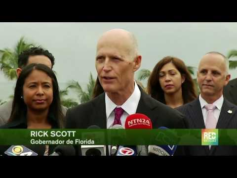 Gobernador de Florida declara la zona libre de Zika