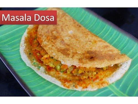 MASALA DOSA recipe  SOUTH INDIAN Style | Deeps kitchen |