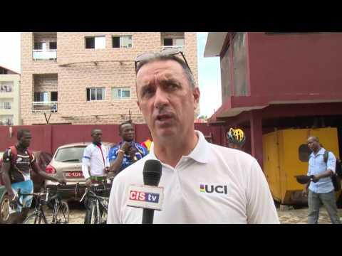 GUINEE: L'UNION CYCLISTE INTERNATIONALE AU CHEVET DE LA FEGUICYCLISTE