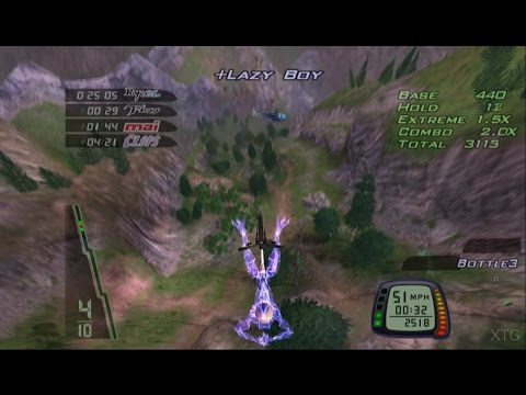 Downhill Domination PS2 Gameplay HD (PCSX2)