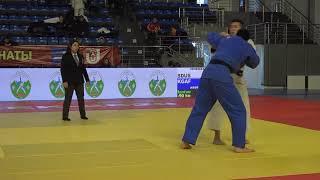 Спорт. Дзюдо. Чемпионат Кыргызстана-2020. День 2 Татами B Часть 1