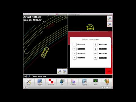 In-Cab Tutorials - Using Simulation Keys in Grade Supervisor