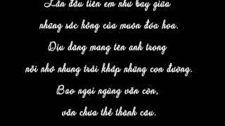 Ngại Ngùng - Hương Tràm [lyric]