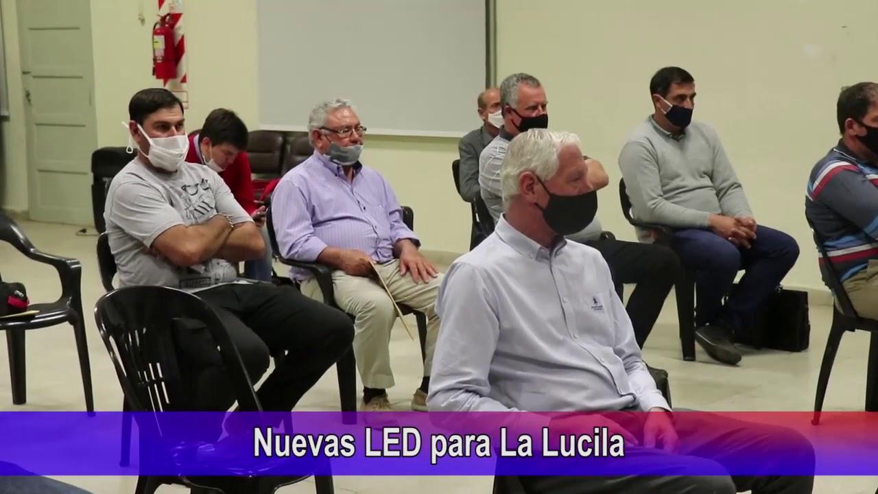 Nuevas luces LED para La Lucila