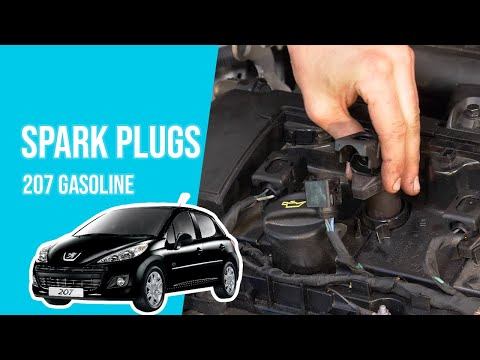 How to replace the spark plugs PEUGEOT 207 1.4i 16V ⚡