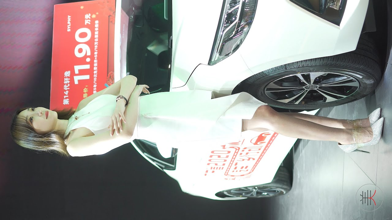 4K 2020佛山車展 레이싱모델 Racing Model NISSAN車模01