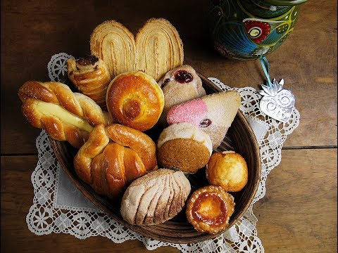 Mexican Sweet Breads (Pan Dulce)