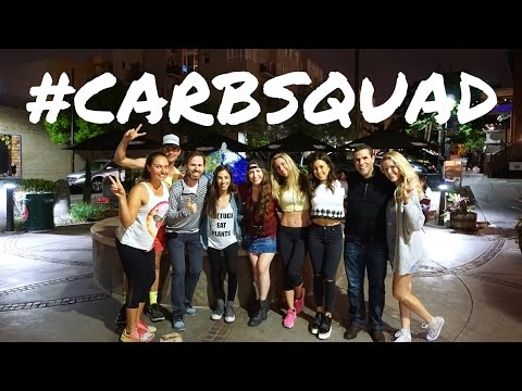Vegan Eats in San Diego with the ultimate #CARBSQUAD // [including vegan fast food]