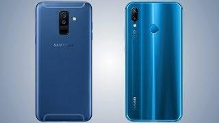 Samsung Galaxy A6 Plus vs Huawei P20 Lite Comaprsion