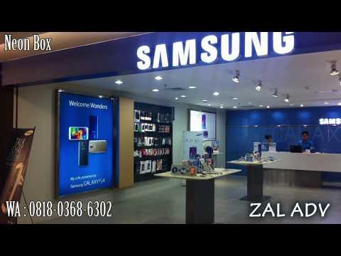 WA : 081803686302, ZAL ADVERTISING l Jasa Pembuatan / Pasang Neon Box Lombok Mataram