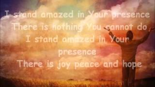 I STAND AMAZED - Sinach with lyrics