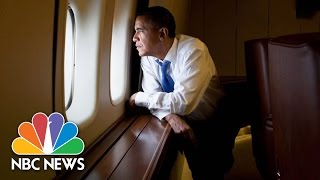 President Obama Makes Final Trip On Air Force...