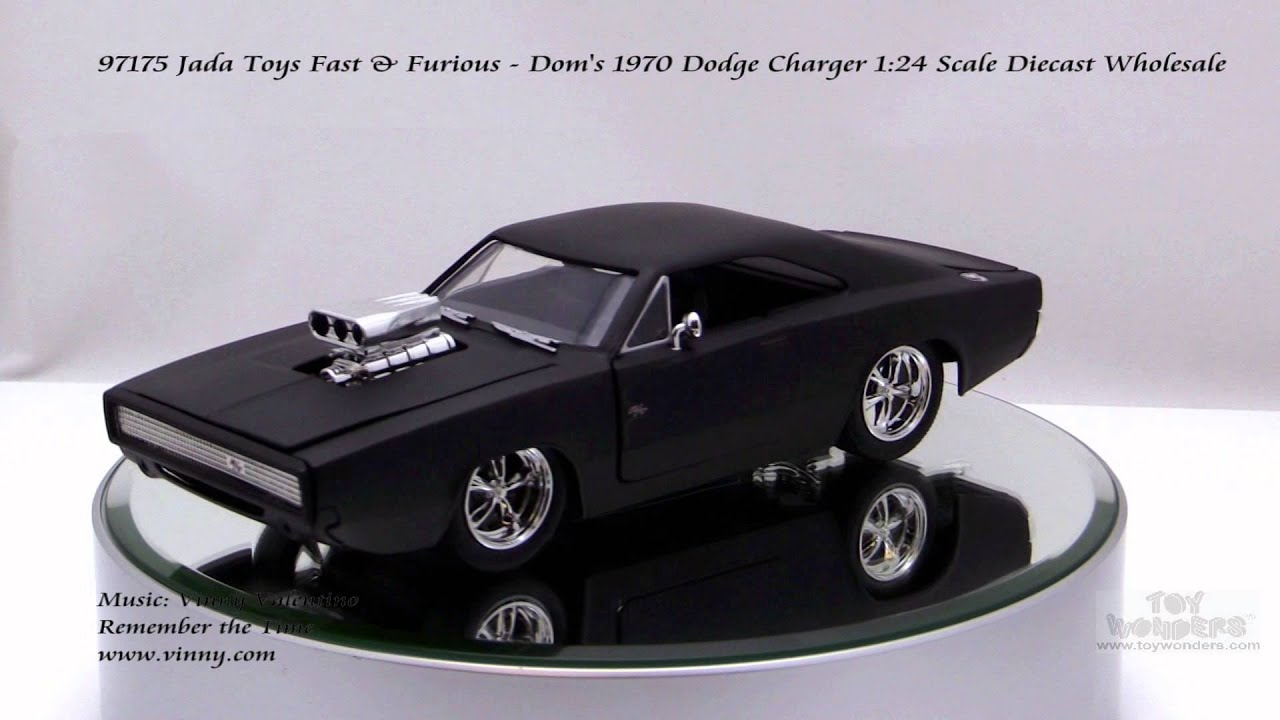 Fast and Furious   1970 Dodge Charger   1//24