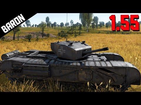 British Tanks, MiG-17 War Thunder 1.55 NEW VEHICLES!