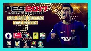 PES 2017 New Season Patch Edição PES 2019 Mini Patch Download