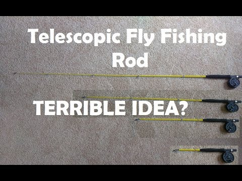 $15 Collapsible Fly Fishing Rod: Trash Or Treasure?
