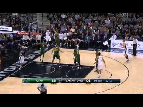 San Antonio Spurs Highlights vs Utah Jazz - December 14, 2015 - 2015-16
