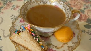 Procrastination: Tea Party for one. Thumbnail