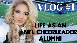 "My First Vlog! ""Life as an NFL Cheerleader Alumni"" NY Jets Flight Crew"