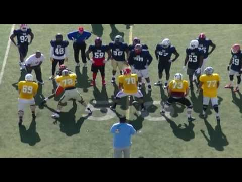 2017 College Gridiron Showcase Select: Day One: 1-on-1