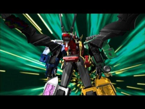 Enter Legendary Mystic Force Megazord