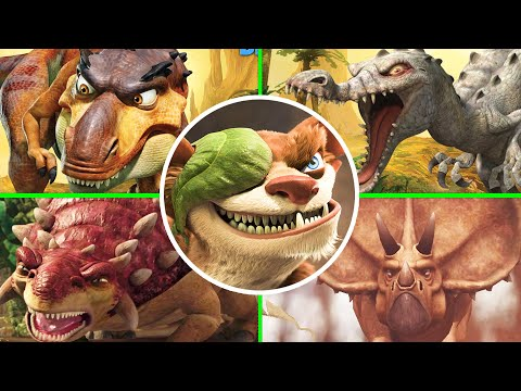 Ice Age 3 Dawn of the Dinosaurs All Bosses Fight (No Damage)