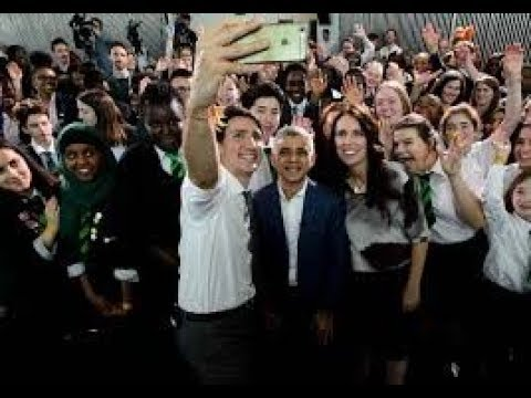 City Hall in London | Canadian PM Justin Trudeau | NZ PM Jacinda Ardern | MayorSadiq Khan