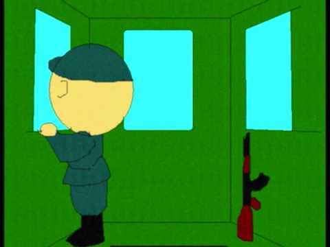 cadete WILSON, en su ultimo año en la EO PNP releva su fusil AKM a su ahijado