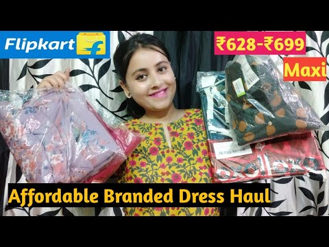 Myntra Flipkart Kurti Dresses Try On Haul Under Rs 500 Clothes And Creativity Youtube