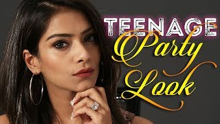 Teenage Party Look Makeup Tutorial | Teenage Makeup Look | Party Look For Teens | Foxy Makeup