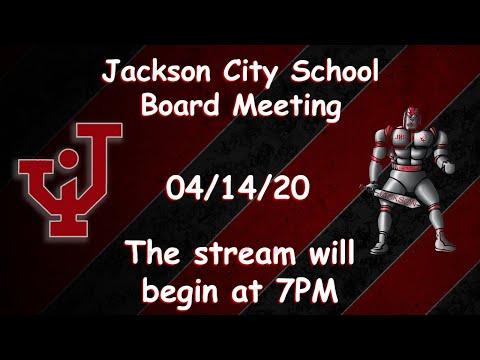 Jackson City School's Board Meeting 7PM