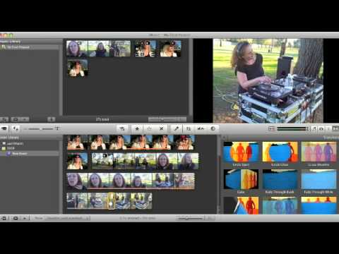 Editing Movie Clips In IMovie '08