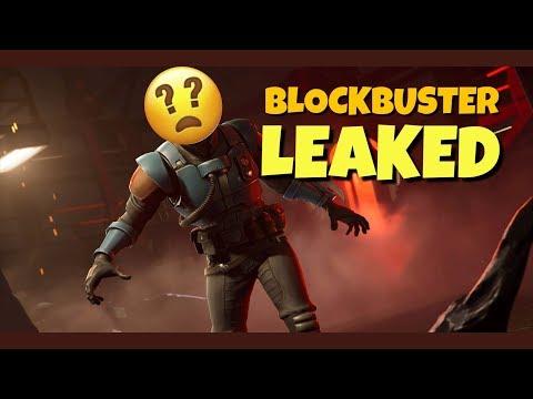 BLOCKBUSTER SKIN LEAKED! (OFFICIAL LEAK)