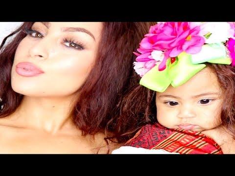 (Mom & Me) Moana Inspired Makeup thumbnail
