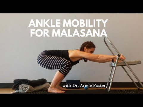 Ankle Mobility for Deep Squats / Malasana with Dr. Ariele Foster (Physical Therapist)