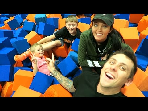 Thumbnail: OUR OWN FOAM PIT!!