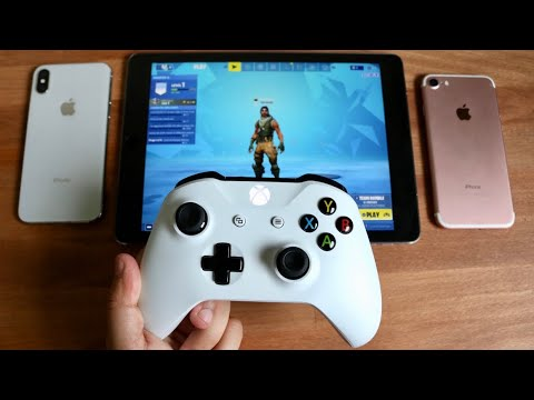 How To Connect Xbox One / PS4 Controller To IPhone / IPad! (iOS 13)