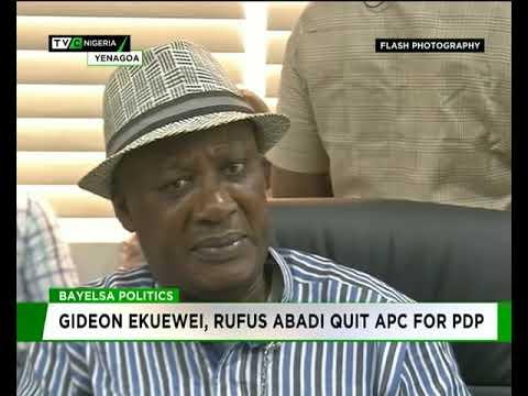 Gideon Ekuewei, Rufus Abadi quit APC for PDP