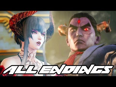 Tekken 7: Fated Retribution - All Characters Intros & Endings @ 1080p (60ᶠᵖˢ) HD ✔