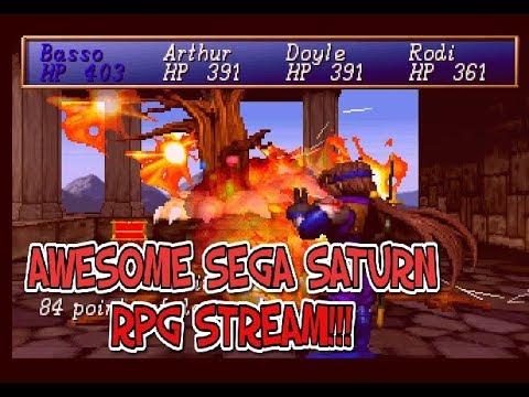 Sega Saturn Shining the Holy Ark Stream!