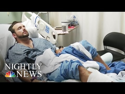 Las Vegas Concertgoers Risk Their Lives To Help Others | NBC Nightly News