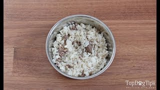 Homemade Dog Food for Struvite Bladder Stones