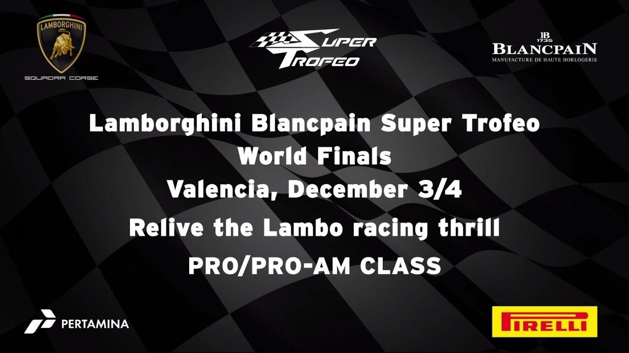 Lamborghini Blancpain Super Trofeo 2016 World Final Highlights