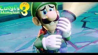 Luigi's Mansion 3 All Cutscenes Movie (Game Movie) - Luigi's Mansion 3 Full Movie